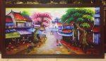 Tranh canvas phố cổ – CV011