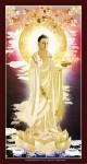 Phật dược sư lưu ly quang vương phật (ép foam cán bóng 909 )