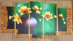 Tranh bộ hoa hiện đại – HD13