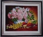 Bình hoa hồng 5D172