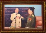 Đại tướng Võ Nguyên Giáp thay mặt bộ Quốc phòng chúc sức khỏe Bác – IN137