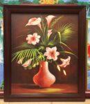 Tranh nghệ thuật Bình Bông- IN151