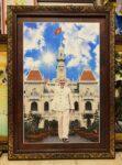Tranh Chủ tịch Hồ Chí Minh – IN161