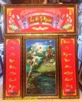 Tranh thờ Ẩm Hà Tư Nguyên,  ( tranh in dầu – IN30 )