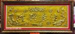 Tranh chữ hán phù điêu, Sinh Ý Hưng Long -K044