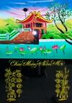 Tranh lốc lịch-chùa một cột-L11