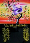 Tranh Lốc lịch-đôi uyên ương-L9