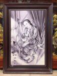 Tranh , Mẹ là đức phật của đời con – IN148