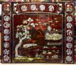 Liễng thờ cửu huyền thất tổ sơn mài khảm trai -SM279