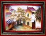 Tranh đá quý, Phố Cổ Hà Nội-TD014