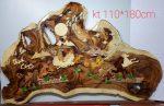 Tranh gỗ ghép nghệ thuật -Mã đáo thành công-TG091
