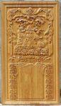 Tranh đốc lịch gỗ gõ đỏ , Di lặc – TG133