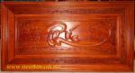 Tranh gỗ hương đỏ, Chữ Phúc – TG143