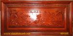 Tranh gỗ hương đỏ, Cửu ngư quần hội – TG146