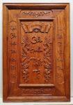 Liễn thờ gia tiên – Cửu huyền thất tổ ( gỗ hương đá )-TG285