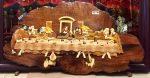 Tranh gỗ hương, Bữa tiệc cuối cùng – TG285