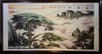 Tranh thuỷ mạc ,Tùng nghênh khách -TM57
