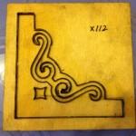 Khuôn cắt giấy bo tranh thêu-X112