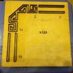 Khuôn chặt giấy po tranh-X132