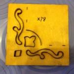 Khuôn đóng giấy bo tranh-X78