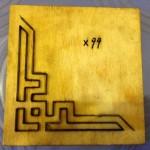 Khuôn dập hoa văn-X99