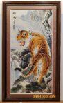 Hổ thượng sơn-Tranh thảm dệt-Z05