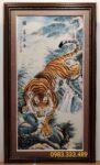 Hổ hạ sơn -Tran thảm dệt-Z06