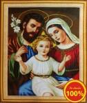 Mẫu thêu-Gia đình thánh gia YA608