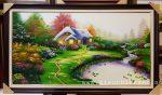Tranh sơn dầu cảnh châu âu -S220