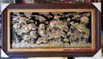 Tranh đồng vàng liền tấm, Hoa Sen A205