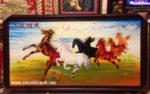 Tranh vẽ sơn mài, Bát Tuấn Hùng Phong – SM178
