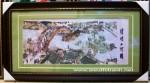 Tranh thêu tay-Bến chợ đò ngày xưa-t186