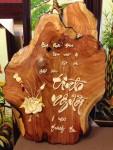 Tranh gỗ-tình người-tg075