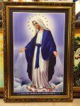 Mẹ Maria -C063 (tranh in dầu)