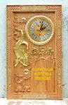 Đốc lịch Cá Chép vác vàng, Gỗ GÕ ĐỎ -TG233