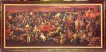 105 nhân vật nổi tiếng đông tây kim cổ trong một bức tranh sơndầu