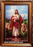 Chúa giesu chăn cừu- C19 ( in dầu ép foam )