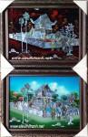 Tranh sơn mài-chùa một cột-sm035