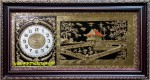 Đồng hồ tranh đồng-Chùa một cột -Hà Nội-a138