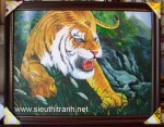 chúa tể rừng xanh-tranh sơn dầu-s160