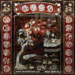 Tranh thờ khảm trai sơn mài , Cửu Huyền – SM187