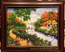 Tranh sơn dầu đồng quê_s185