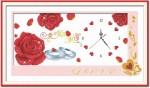 Hoa hồng mẫu đồng hồ, in 100%
