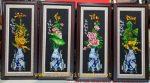 Tranh thêu – Tứ Bình ( Xuân Hạ Thu Đông) -T218