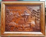 Chùa một cột -TG113 ( gỗ hương đỏ )