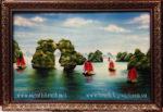 Tranh sơn mài, Hạ Long Bay -SM251