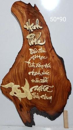 Tranh gỗ Hạnh phúc-TG065