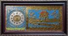 Đồng hồ tranh đồng- Khuê văn các -a137