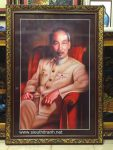 Tranh Chủ tịch Hồ Chí Minh trong điện Kremlin – KTS12