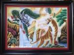Tranh đá quý, Long Hổ tương phùng- TD097
